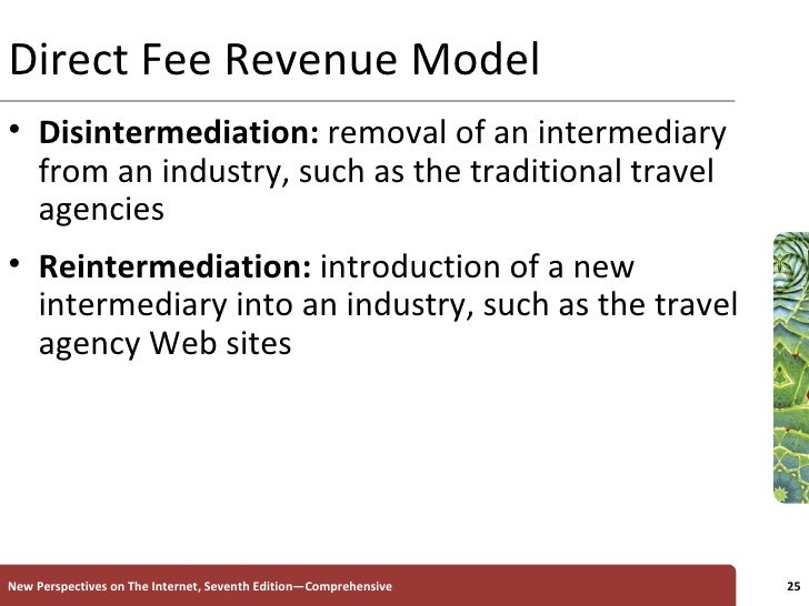 disintermediation and reintermediation of the travel Analyzing firm-level strategy for internet-focused reintermediation  we identify a  recurring pattern of intermediation, disintermediation and reintermediation: the  idr  we build this perspective with evidence from the corporate travel industry.