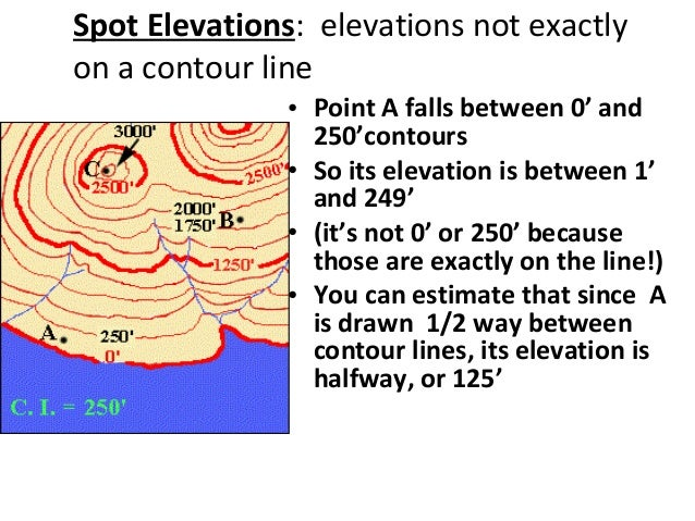 How Do You Find The Elevation On A Topographic Map.Topographic Maps