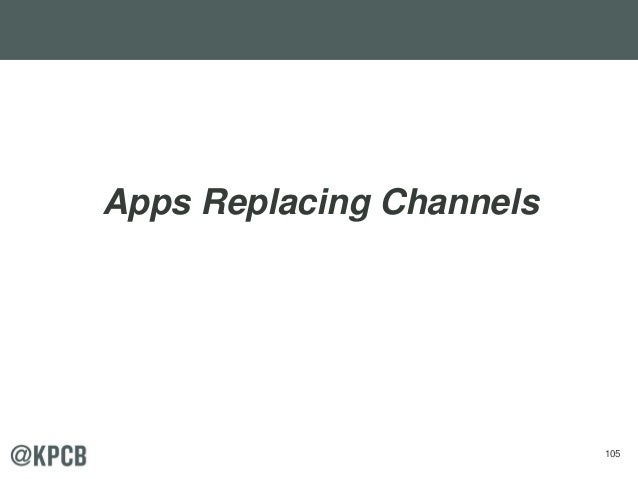 105 Apps Replacing Channels