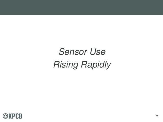 66 Sensor Use Rising Rapidly