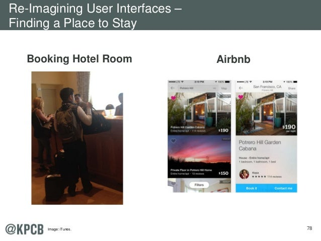78 Booking Hotel Room Airbnb Re-Imagining User Interfaces – Finding a Place to Stay Image: iTunes.