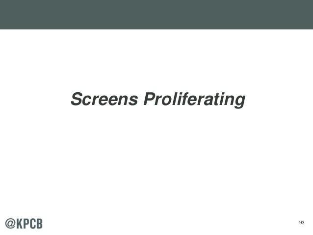 93 Screens Proliferating