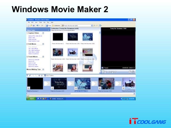 2 windows movie maker Free Windows