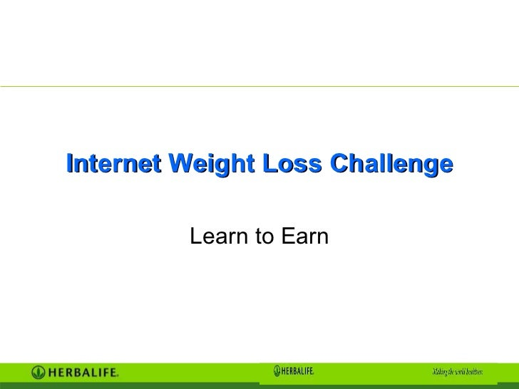 Internet Weight Loss Challenge Learn to Earn