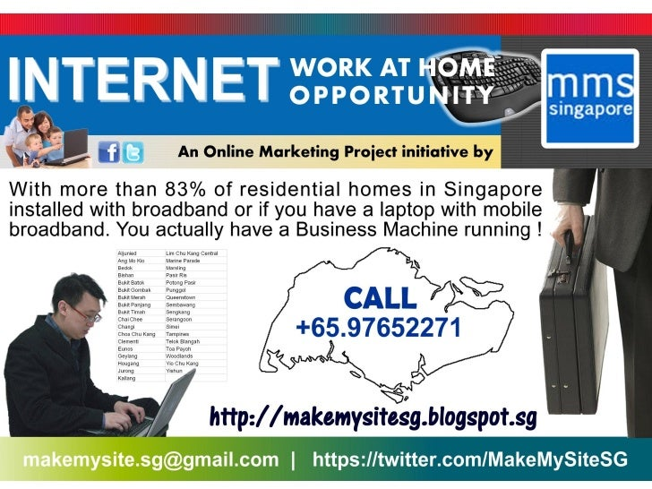Internet Work At Home Opportunity
