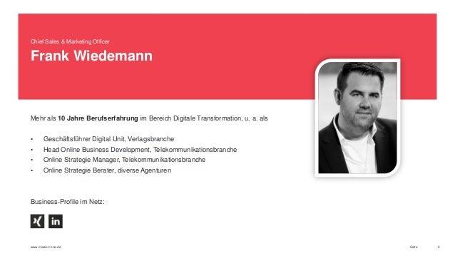 Chancen digitaler Transformation - Marketing Automation Slide 2