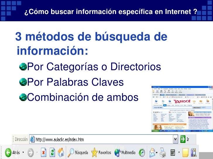 Internet y busqueda de informacion for Busqueda de telefonos por calles