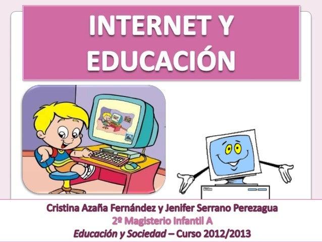 1. Introducción2. ¿Qué es Internet?3. Internet en la escuela4. Alfabetización telemática en laescuela5. Actividades prácti...