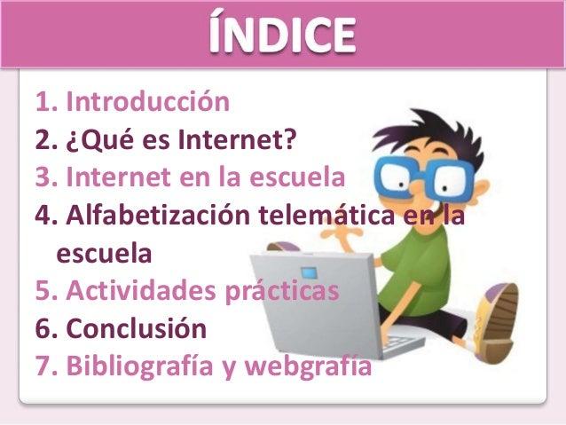 Internet y educación Slide 2