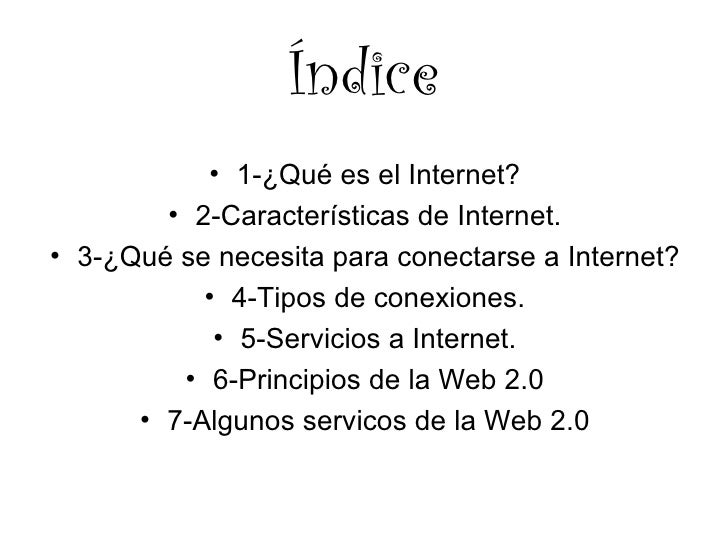 Internet y la web 2 Slide 2