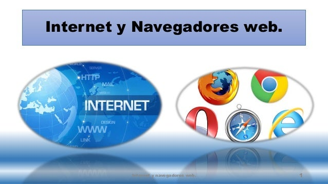 Internet y navegadores web for Internet be and you
