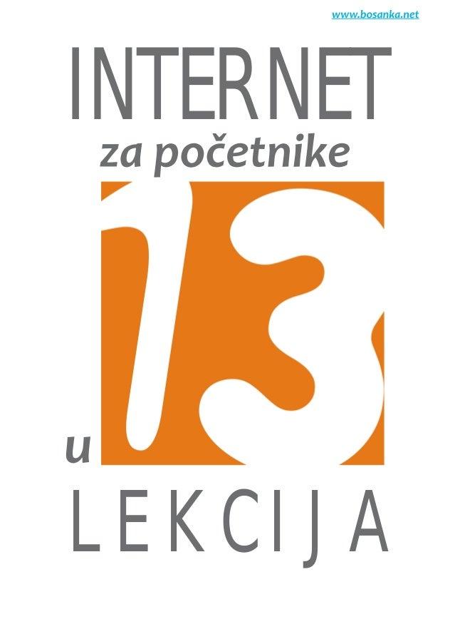 INTERNET L E K C I J A