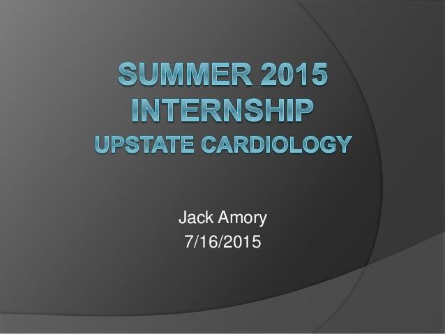 Jack Amory 7/16/2015