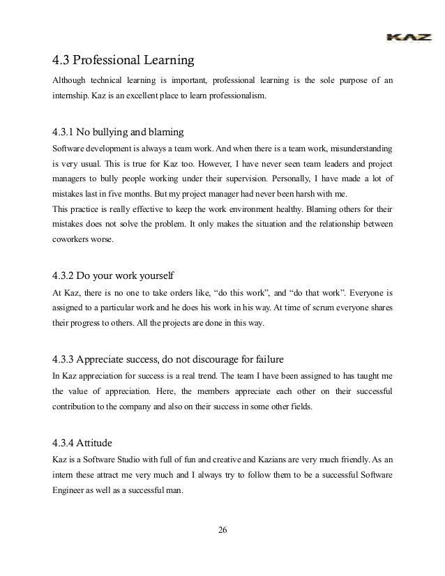 Internship Final Report