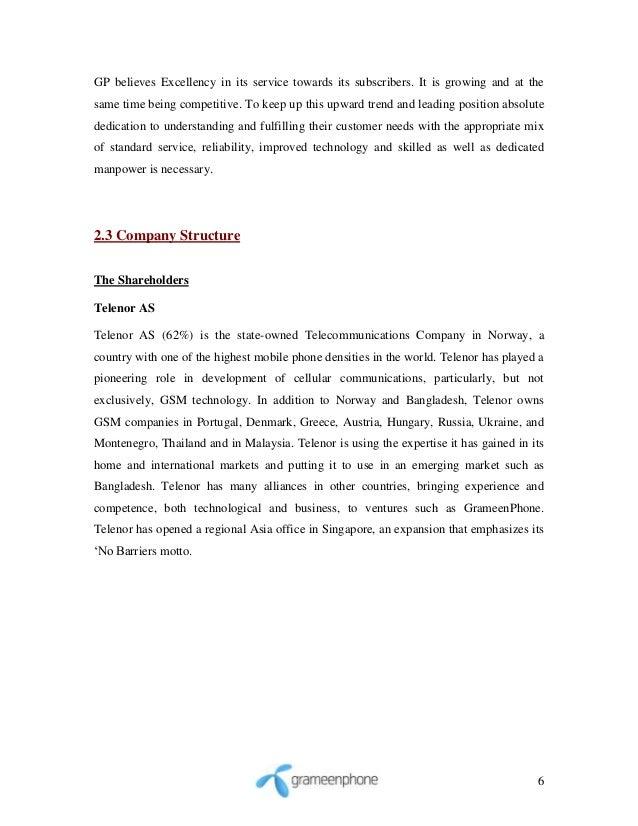 Hr Report on Telenor
