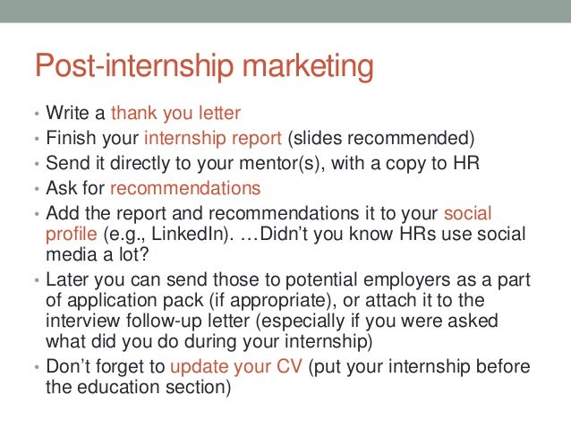 post internship thank you letter internship lessons learned 24023