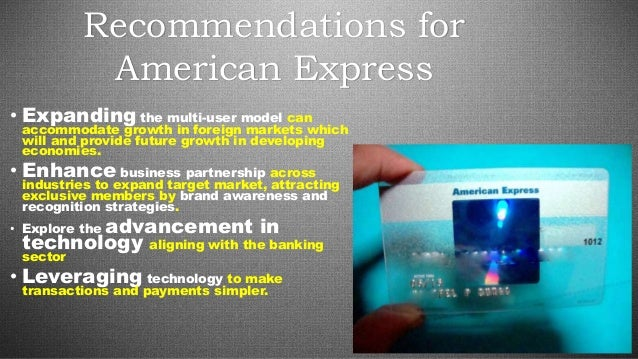 American Express Redefines Its Strategy