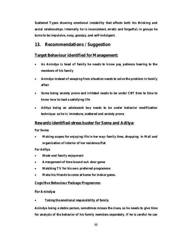 Rehabilitation Psychology Internship File By Dr Rupa Talukdar Final 1