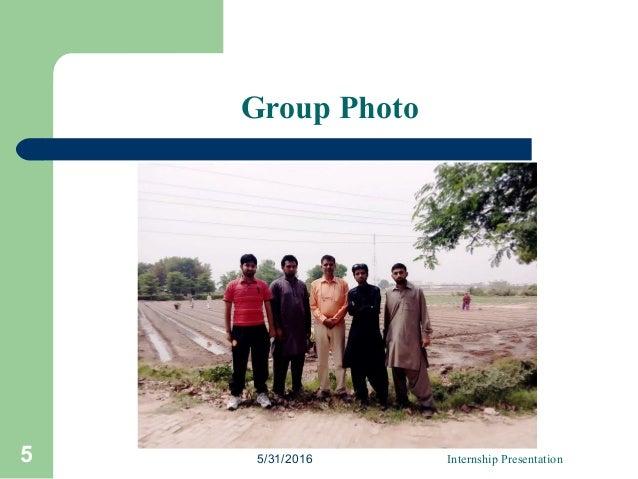 Group Photo 5/31/2016 Internship Presentation5