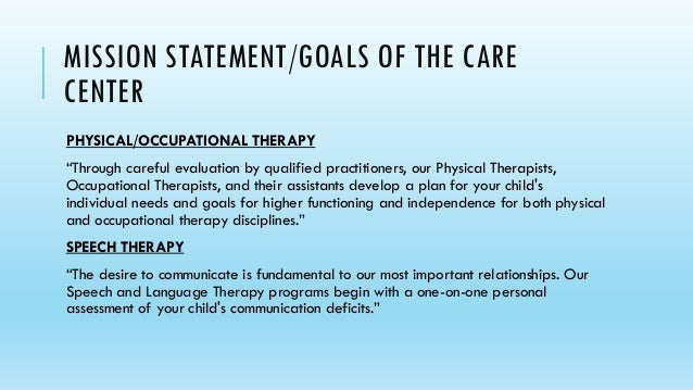 occupational therapy personal statement