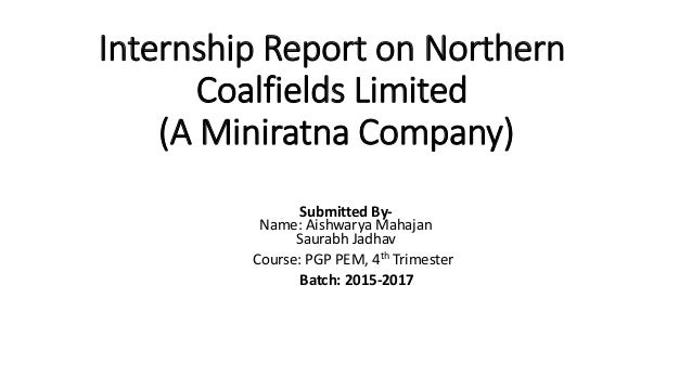 Nothern Coalfields Limited