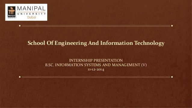 Internship Presentation - Software Testing and Content Creator