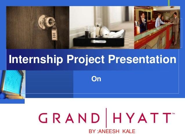 Internship Project Presentation               On              Company              LOGO              BY :ANEESH KALE