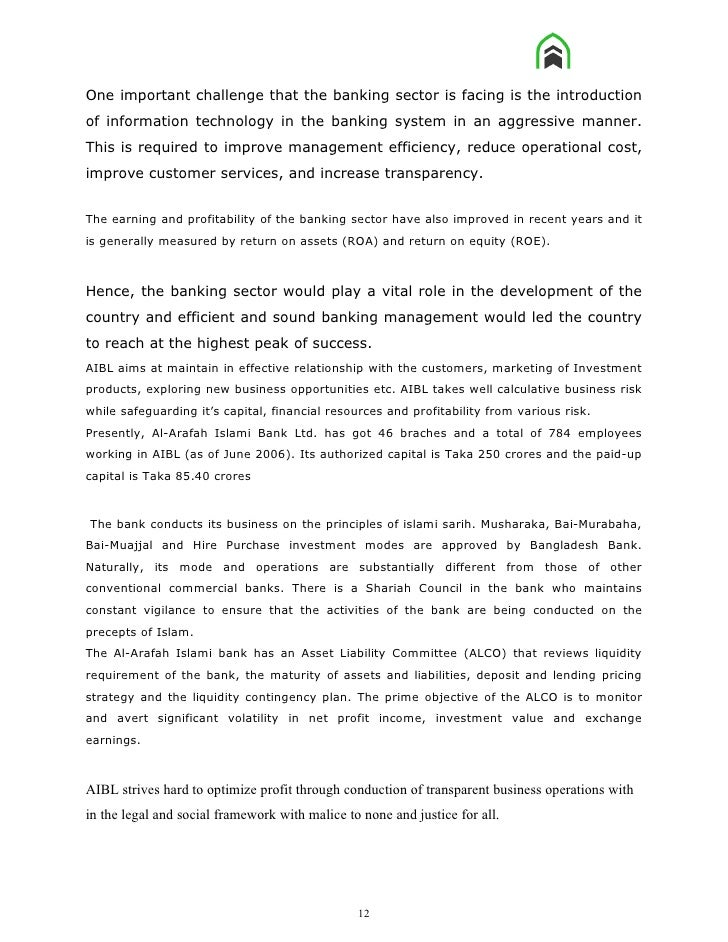 internship report on aibl The investment and comprehensive performance analysis of commercial  the investment and comprehensive performance analysis  (aibl) 1 internship report on.
