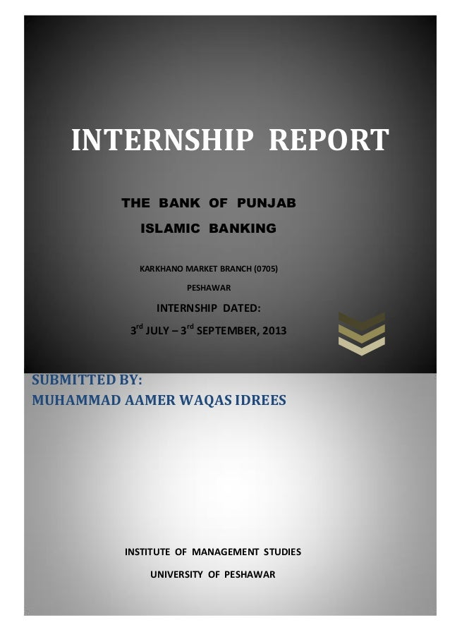 Marketing Internship Report Sample