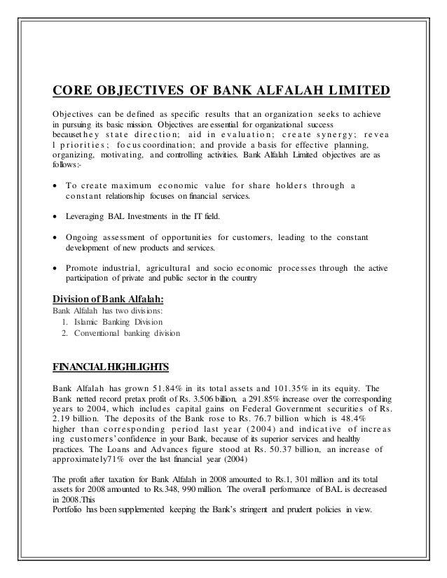Waqas Report Bank Alfalah Paper