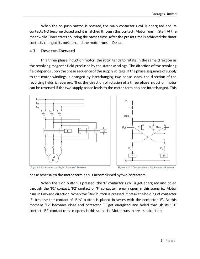 Dorable Motor Reverse Forward Control Circuit Frieze - Simple Wiring ...