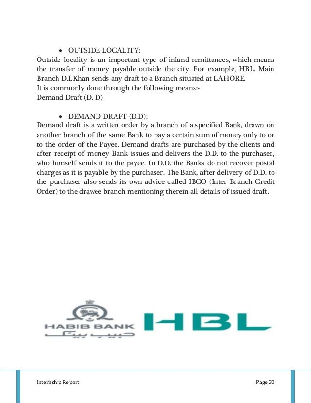 hbl report Hbl does not take any responsibility of accuracy or inaccuracy of any data, which has originated in a website, outside of hbl's own website, and also not for its own provisional data or information the only financial data that can be relied upon is hbl's audited financial statement read along with the full text of its auditors' report.