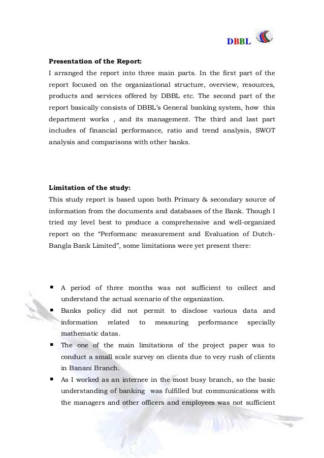 internship report on dbbl Internship is an imperative part of bba course it is considered as an interface between academic knowledge and practical field this report is prepared as a requirement for the completion of the bba program conducted by the department of bba, major in finance & banking in international islamic university chittagong.
