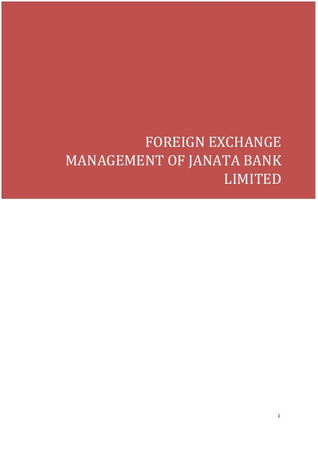 report on foreign exchange activities of standard bank ltd essay Get your foreign exchange for your overseas standard bank is a licensed financial services provider in terms of the financial advisory and intermediary.