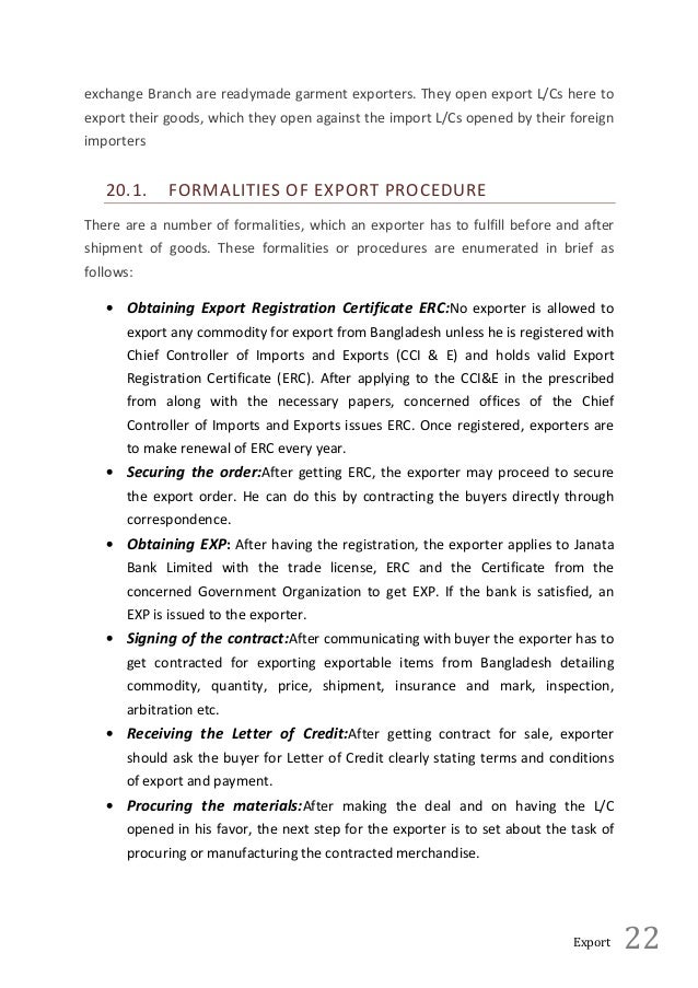 Internship Report on Janata Bank Essay Sample