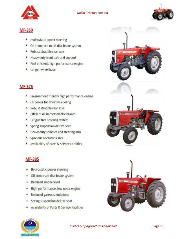 millat tractors limited Muhammad tahir hanif assistant manager finance at millat tractors limited beliggenhet pakistan bransje bil og kjøretøy.