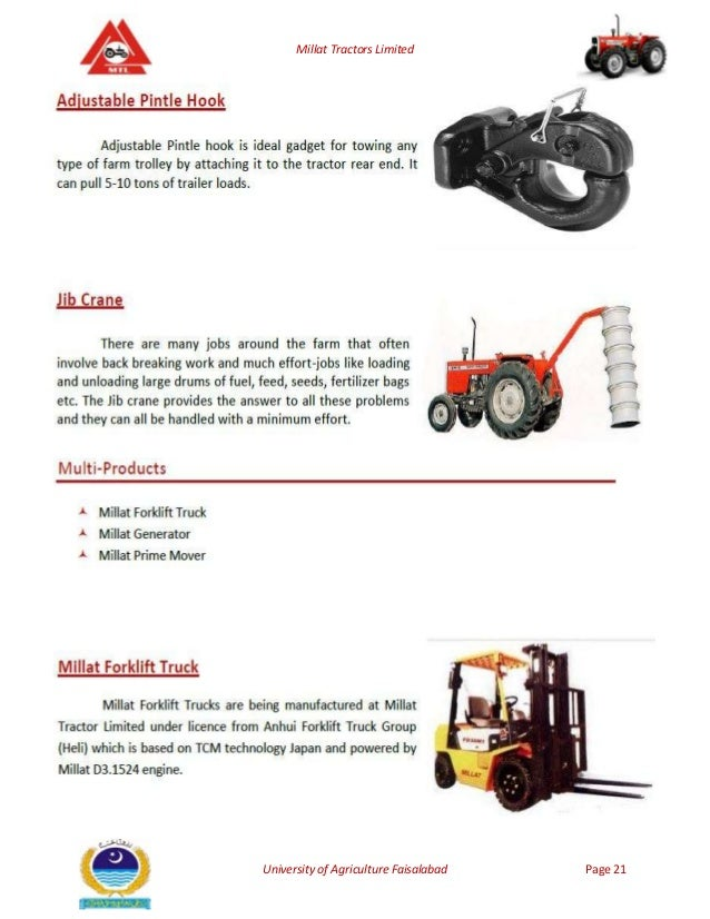 millat tractors limited Millat tractors limited (mtl), lahore, pakistan 59k likes millat is a global group of companies, recognized for a range of quality products with.