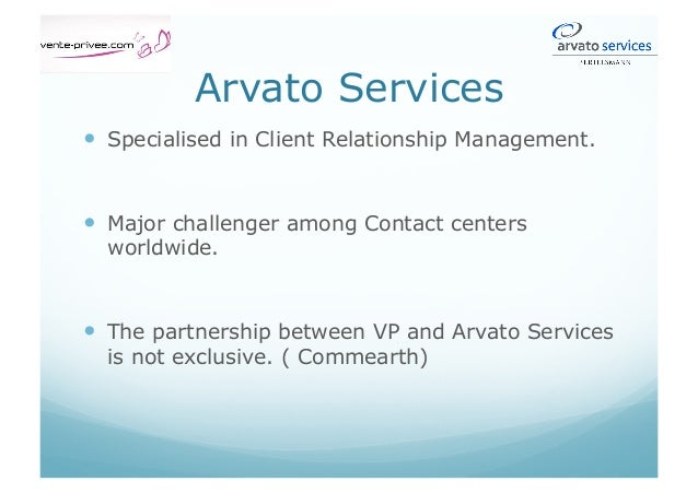 Aims of externalisation. Why entrusting the CRM to a specialist?  Process and the added constrains:  Secure the servic...