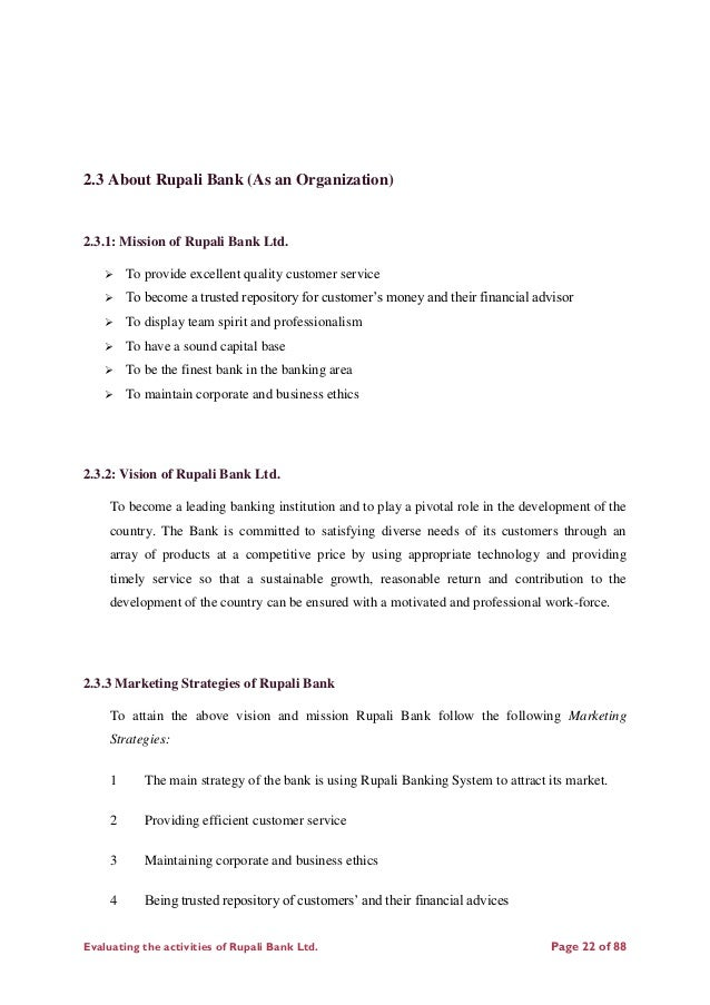 report of rupali bank ltd The internship report format can help you make a professional and perfect document template net acknowledgement letter templates free samples examples aploon appraisal acknolwedgement letter sample pdf format internship report on rupali bank limited comilla corporate branch course hero internship.