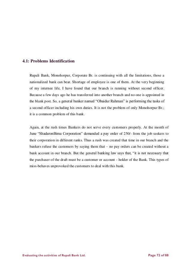 report of rupali bank ltd Rupali bank the bank for everyone annual report 2006  arif habib rupali bank limited the bank was incorporated in pakistan as a public limited.