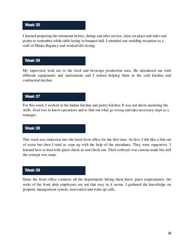internship report on restaurant Tài liệu về internship report ppt - tài liệu , internship report ppt - tai lieu tại 123doc - thư viện trực tuyến hàng đầu việt nam.