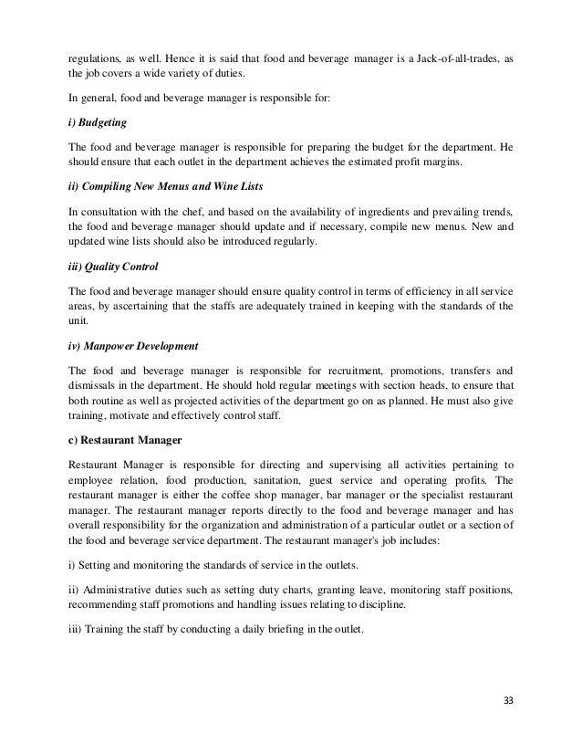 restaurant internship report Tìm kiếm internship report example restaurant , internship report example restaurant tại 123doc - thư viện trực tuyến hàng đầu việt nam.