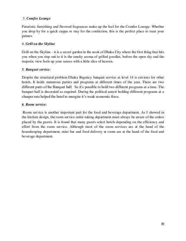 hettich internship report