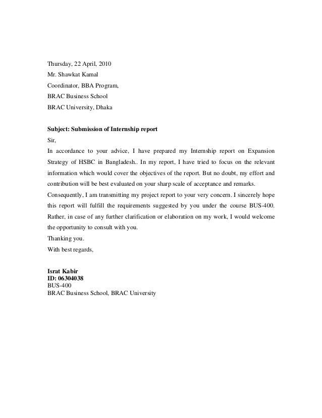 internship report on shipping
