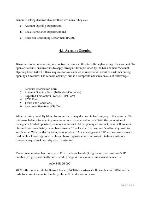 Finance Internship Report Pdf