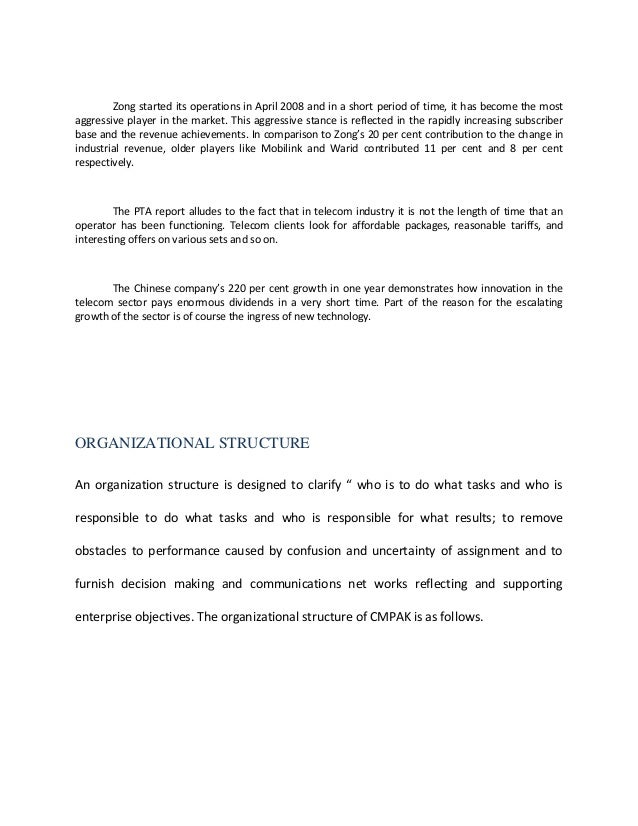 internship report on ufone Internship report ufone faiza yousuf project report submitted in partial fulfillment of the requirements for the degree of master of business administration in finance at national university of modern languages islamabad, pakistan october, 2009.