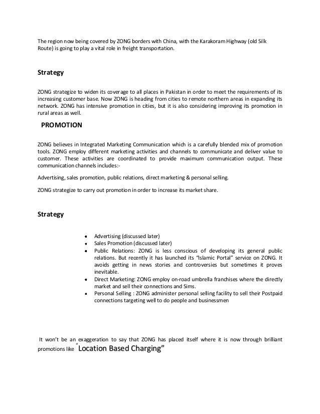 Internship report on marketing