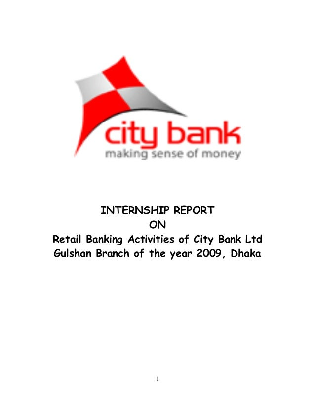 Intership report on national bank limited