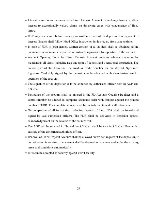 internship report on retail banking Origin of the report: consumer banking is a major source of earning for standard  chartered bank the principal issue to be considered while giving the facilities.