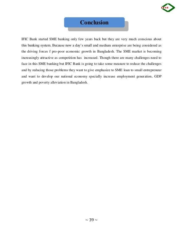 internship report on ific bank ltd